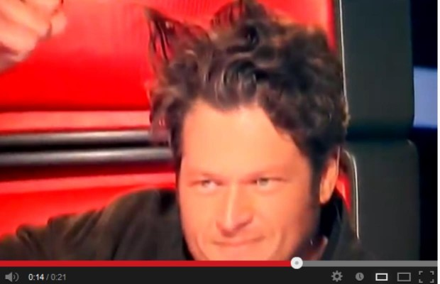I Love Blake on the Voice