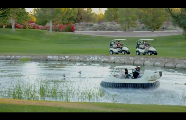 Golf carts for people who don't like golf?