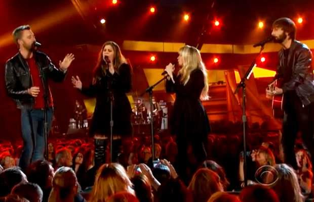 Stevie Nicks and Lady A. at the ACM's